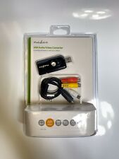 Nedis USB Video VHS To PC Converter Grabber Capture Card Win 7 8 10