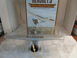 ERTL Hershey's 1929 Lockheed Air Express Airplane Die Cast Metal Coin Bank NEW