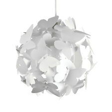 Modern White Butterfly Cluster Ceiling Pendant Light Lamp Shade Lights Shades