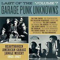 VARIOUS/GARAGE PUNK UNKNOWNS - THE LAST OF..VOL.7   VINYL LP NEW!