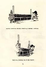 1965: Thelwell's Riding Academy Horse Pony Original Vintage Art Cartoon Print