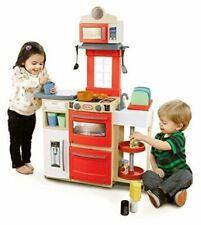 Childrens Red Little Tikes Cook 'n Kitchen
