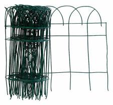 Panacea  240 in. L x 14 in. H PVC  Green  Scroll Garden Edging