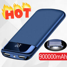 2020 New Portable External Battery Huge Capacity Power Bank 900000mAh Charger