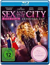 SEX AND THE CITY, DER FILM (Extended Cut) Blu-ray Disc NEU+OVP