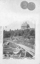 CANADA, COIN POSTCARD, VIEW - MARKLAND HOTEL YARMOUTH, NOVA SCOTIA c. 1902-08