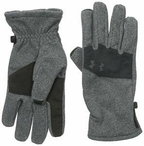 Under Armour Men's Gloves Survivor Grey M Fleece 2.0 ColdGear Infrared MSRP