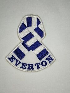 EVERTON - EFC - EMBROIDERED PATCH 'SCARF' IRON ON / SEW ON - PERSONALISED
