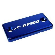 APICO BLUE FRONT BRAKE RESERVOIR MASTER CYLINDER COVER SUZUKI RM125 RM250 91-08