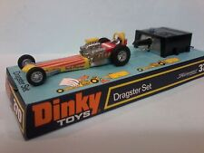 DINKY TOYS 370 DRAGSTER SET  FACTORY MINT ON CARD BASE