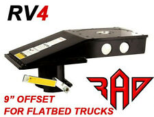 PopUp RV4 Kingpin to Gooseneck 5th Fifth Wheel RV Hitch Adapter - FLATBED ONLY