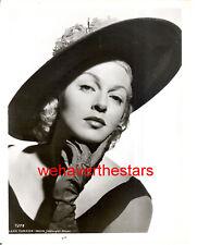 Vintage Lana Turner GORGEOUS MGM GLAMOUR 50s Publicity Portrait