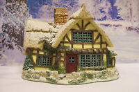 "Lilliput Lane Lamplight "" CANDLEMAKER'S COTTAGE "" 1995 Limited  Ed. Reg. No 1287"