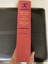 City Of God by St. Augustine (hardcover) Modern Library Edition, 1950 Very Good