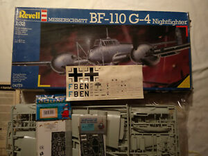 BF 110 G4 Nightfighter 1/32 REVELL 04773 + EDUARD photo-etched