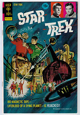 STAR TREK #18 7.0 GOLD KEY WHITE PAGES BRONZE AGE