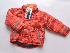New Girls Coat Wind Water Proof Jacket Fleece Lining 18-24 Months 2 Years