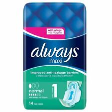 Always Maxi Normal With Wings Size 1 - 14 Pads