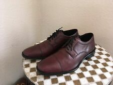 VINTAGE J. MURPHY OXFORD OXBLOOD LACE UP DRIVING WALKING POWER SHOES 11 W