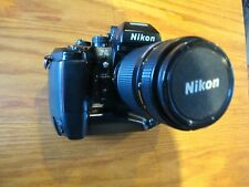 Nikon F4 film camera with 70-210 f/4 Af Nikkor lens