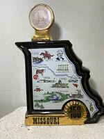 Missouri 150th Anniversary Decanter Vintage Bottle 1970 McCormick Rare