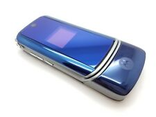 VGC Motorola KRZR K1 - Blue (Unlocked) Mobile Phone