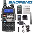 Baofeng UV-5R+ VHF/UHF 2m/70cm Dual Band DTMF Dual-Dand FM Ham Two way Radio US