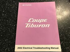 HYUNDAI COUPE TIBURON ELECTRICAL TROUBLESHOOTING +HARNESS CONNECTOR MANUAL 2002