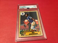 1987 Topps Bo Jackson #170 Future Stars Rookie Baseball CARD RC PSA 9 Graded