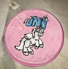NEOPETS UNI Pink Soft Velvety CD Holder Limited Too NWT