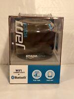 Jam VOICE Portable WiFi & Bluetooth Speaker w/Amazon Alexa BLACK NEW!!