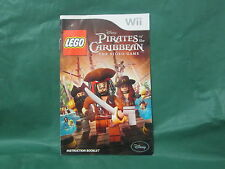 Lego Pirates of the Caribbean  Manual (Wii) *Manual Only*