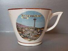 bcz206 SEATTLE WORLDS FAIR 1962 SOUVENIR GIANT COFFEE CUP