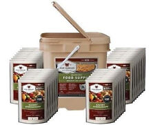 NEW Survival Food Supply Kit.Bucket Of Life.25 Year Shelf Life.Prepper Eat Meals