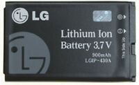 🔋 Replacement 430A OEM LG 3.7V 900mAh Lithium Ion Battery Model # LGIP-430A