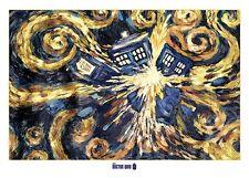 Riesen Poster DOCTOR WHO - Exploding Tardis ca1,40x1m NEU XL889