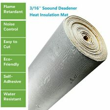 12''x39'' Heat Shield Insulation Sound Deadener Mat - Noise Kill Thermal Proof
