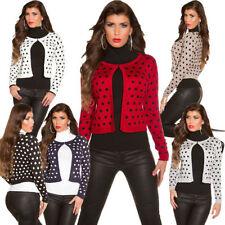 Taillenlange Langarm Damen-Pullover & -Strickware mit