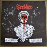 "SEETHER SIGNED LP 12"" VINYL RECORD PARA BELLUM AUTOGRAPHED FULL BAND 2020"