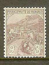 """MONACO STAMP TIMBRE N° 27 """" ORPHELINS DE LA GUERRE 2c+3c 1919 """" NEUF xx TTB"""