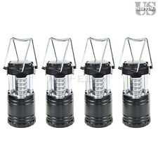 4 Pack Ultra Bright Portable 30 LED Collapsible Camping Lantern Light Tent Lamp