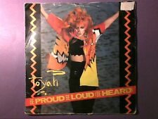 """Toyah - Be Loud Be Proud (Be Heard) [7"""" single] picture sleeve SAFE 52"""