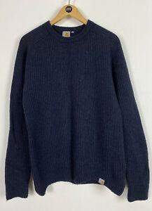 Men's Carhartt Rib Sweater / Small / Wool Blend / Outdoor / Casual /