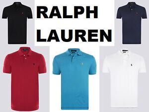 Polo RALPH LAUREN, Poloshirt, kurzer Arm, Gr. M - XXL, verschiedene Farben, Neu