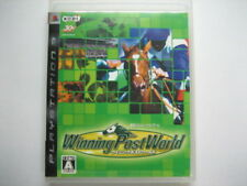 Playstation 3 PS3 Import Japan Game Winning Post World Horse Racing WPW