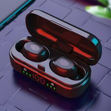 BT 5.0 Headset Mini TWS Twins Wireless Headphone Stereo Earphones Earbuds