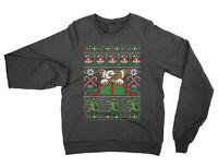 Gremlins Christmas SWEATSHIRT funny jumper xmas retro 80s movie present gift