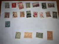 Lot of 16 Argentinian And 4 Armenian Stamps (Vintage)