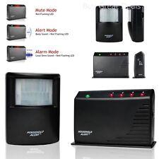 Wireless Motion Detector Alarm Driveway Sensor Garage Security Kit Range Alert