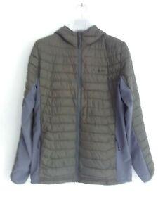 Columbia Powder Lite Hooded Jacket Moss Mens Size M
